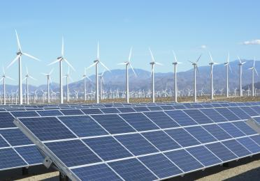 Renewable energies: wind and solar